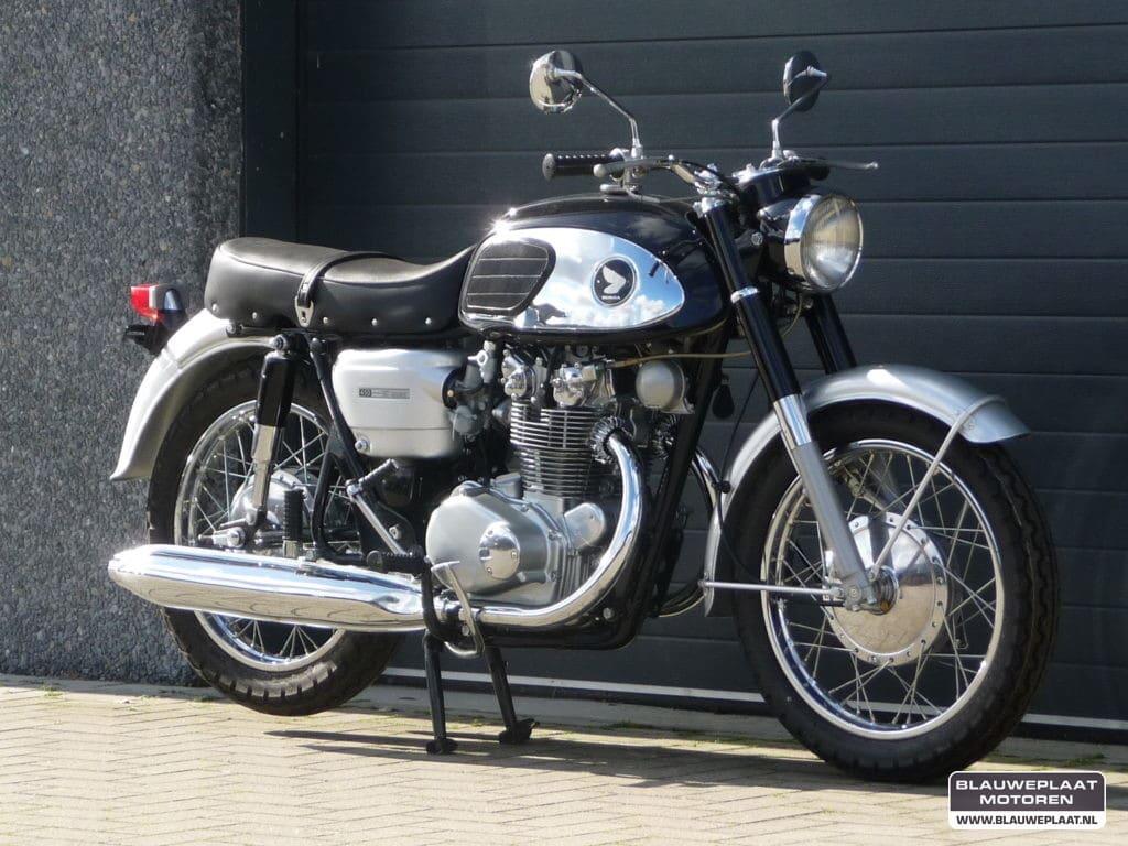 Honda CB450 – Blackbomber – 1965, 1965